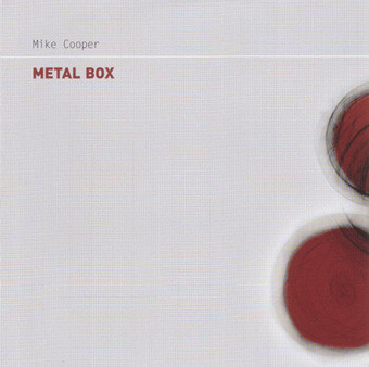 MIKE COOPER - Metal Box cover