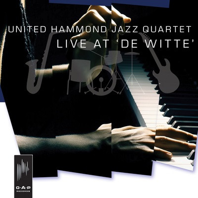 MIKE LEDONNE - United Hammond Jazz Quartet : Live at 'De Witte' cover