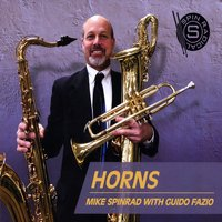 MIKE SPINRAD - Mike Spinrad with Guido Fazio : Horns cover