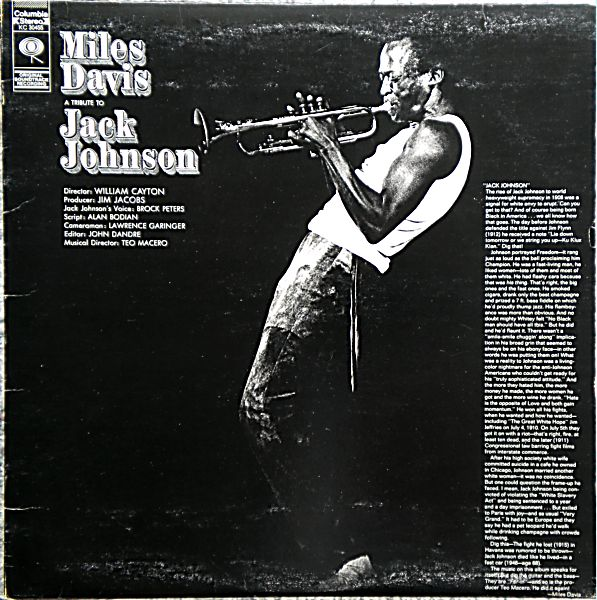 MILES DAVIS - A Tribute to Jack Johnson cover