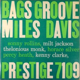 MILES DAVIS - Bags' Groove cover