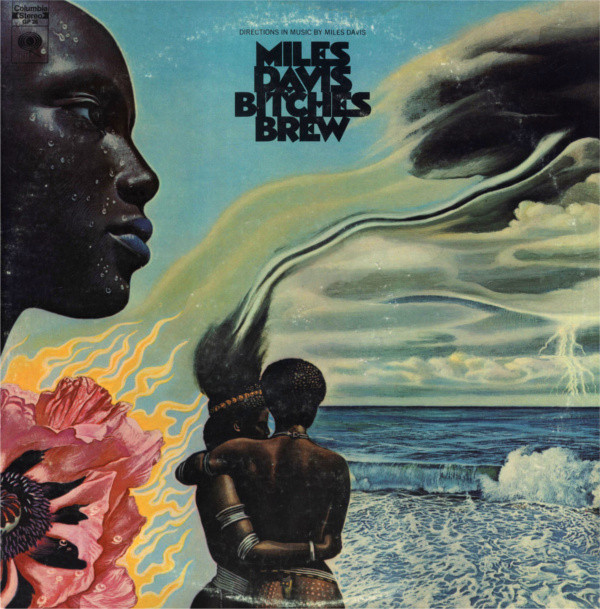 MILES DAVIS - Bitches Brew cover
