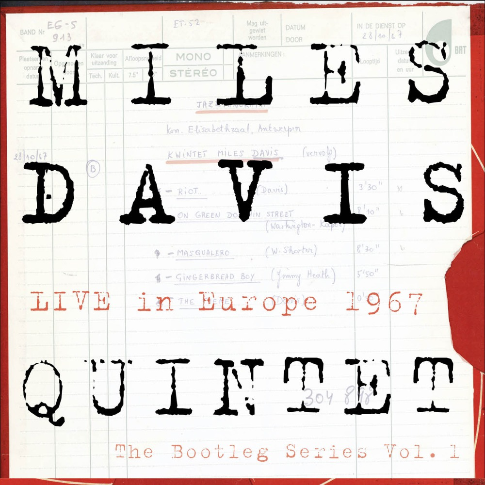 MILES DAVIS - Live In Europe 1967 - Best Of The Bootleg Series Vol. 1 cover