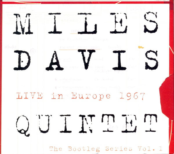 MILES DAVIS - Live In Europe 1967: The Bootleg Series Vol. 1 (3 CD + DVD set) cover