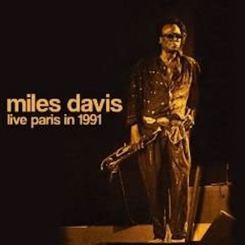 MILES DAVIS - Live Paris In 1991 cover