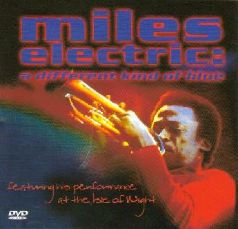 MILES DAVIS - Miles Electric: A Different Kind Of Blue cover