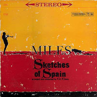 MILES DAVIS - Sketches of Spain cover
