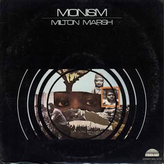 MILTON MARSH - Monism cover