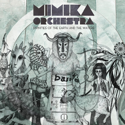 MIMIKA - Mimika Orchestra : Divinities Of The Earth And The Waters cover