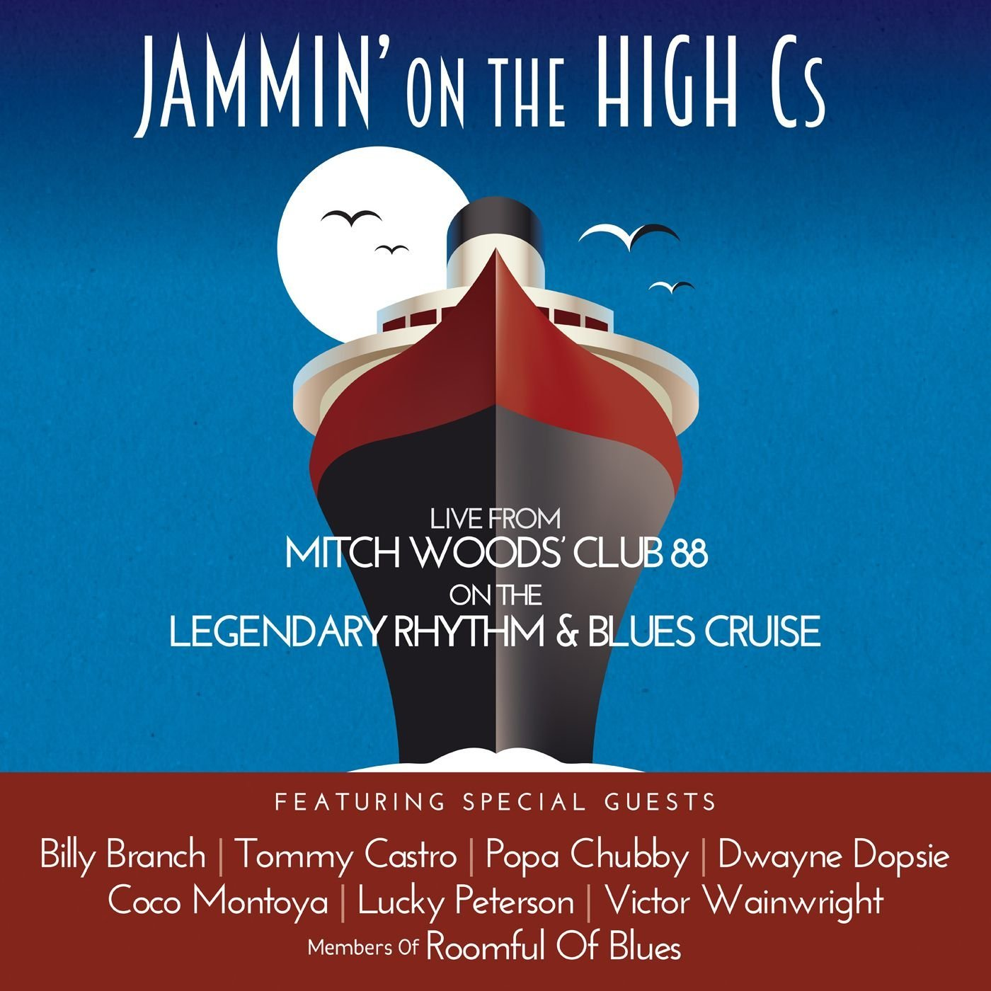 MITCH WOODS - Jammin' on the High Cs cover