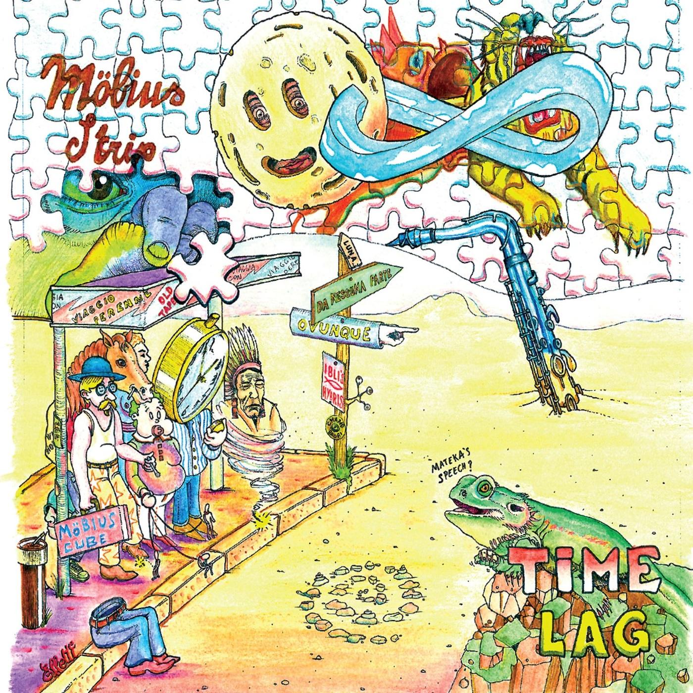 MÖBIUS STRIP (ITALY) - Time Lag cover