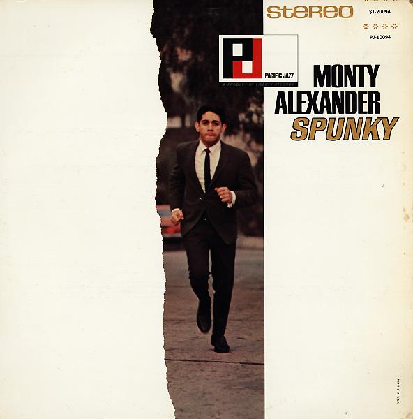 MONTY ALEXANDER - Spunky cover