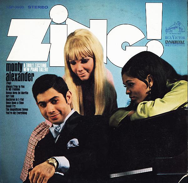 MONTY ALEXANDER - Zing! cover