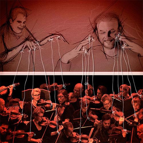 MORGAN AGREN - Mats/Morgan: Live with Norrlandsoperan Symphony Orch. cover