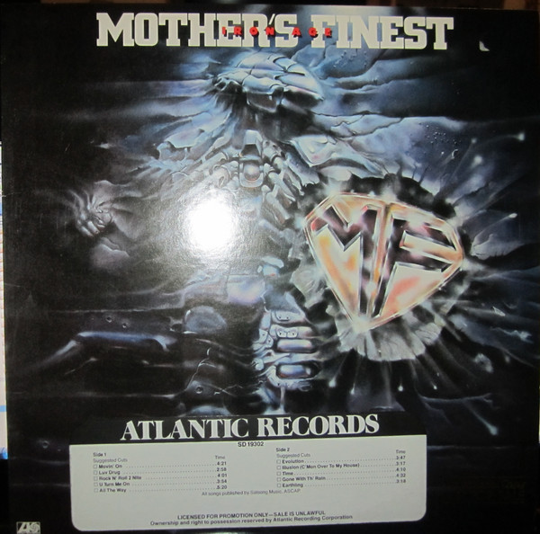 MOTHER'S FINEST - Iron Age cover