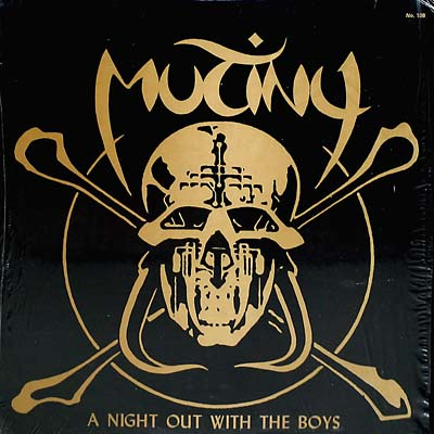 MUTINY - A Night Out With The Boys cover