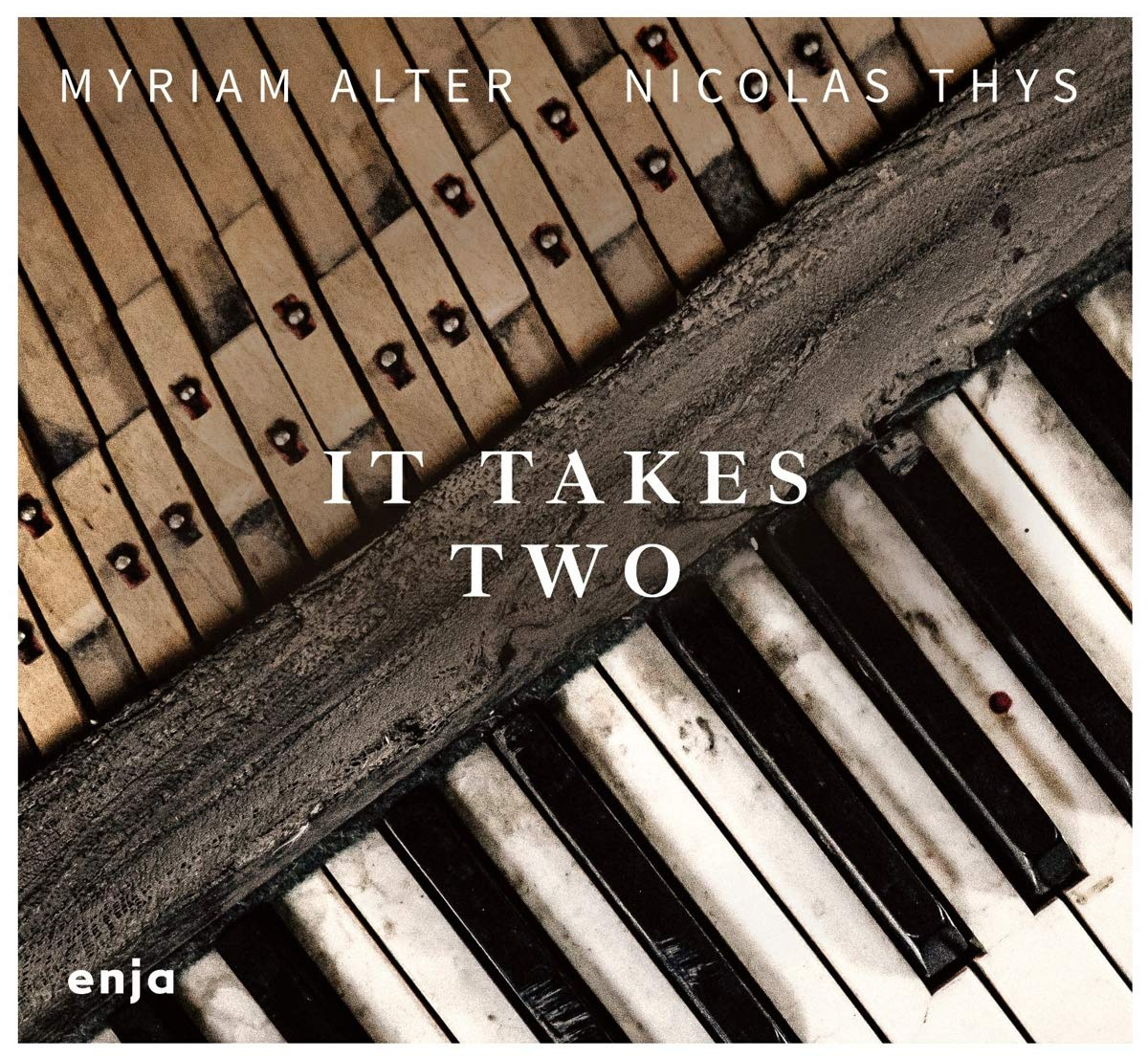 MYRIAM ALTER - Myriam Alter / Nicolas Thys : It Takes Two cover