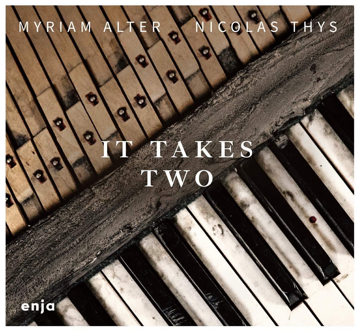 MYRIAM ALTER - Myriam Alter / Nicolas Thys : It Takes Two cover