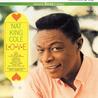 NAT KING COLE - L-O-V-E cover