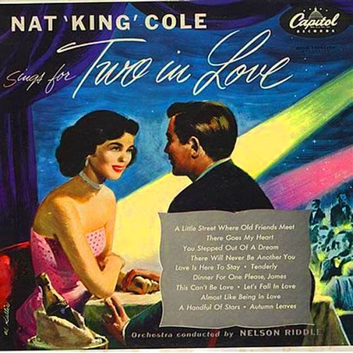 NAT KING COLE - Sings For Two In Love cover