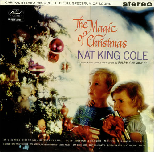 NAT KING COLE - The Magic of Christmas cover