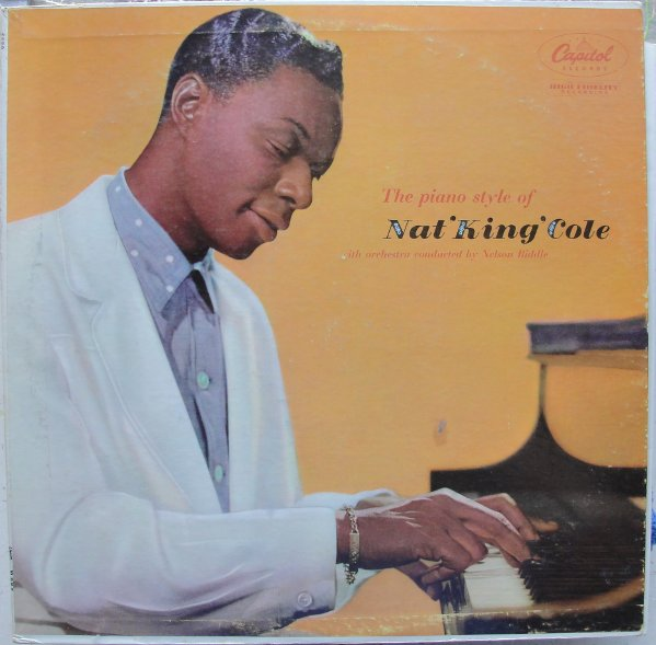 NAT KING COLE - The Piano Style Of Nat 'King' Cole cover