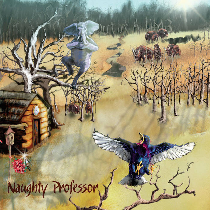 NAUGHTY PROFESSOR - Out On A Limb cover