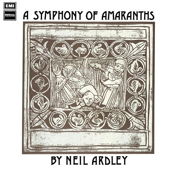 NEIL ARDLEY - A Symphony of Amaranths cover