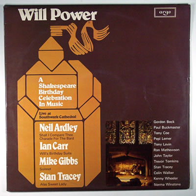 NEIL ARDLEY - Will Power cover