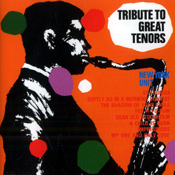 NEW YORK UNIT - Tribute To Great Tenors cover