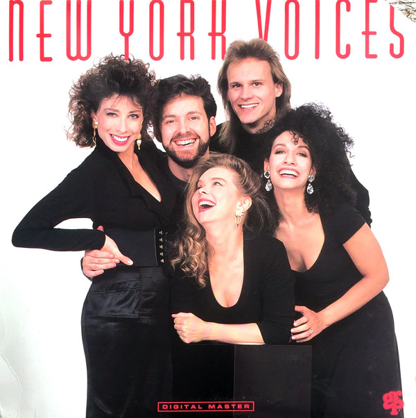 NEW YORK VOICES - New York Voices cover