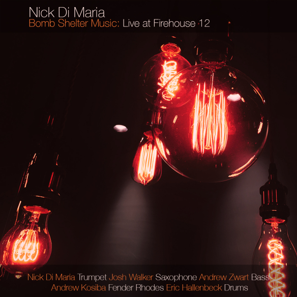 NICK DI MARIA - Bomb Shelter Music : Live at Firehouse 12 cover