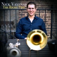 NICK VAYENAS - The Right Time cover