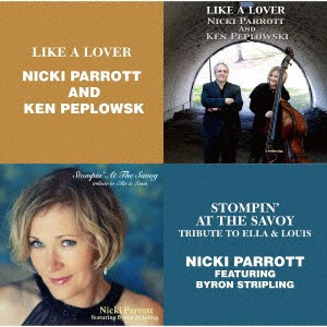 NICKI PARROTT - Like A Lover / Stompin' at the Savoy cover