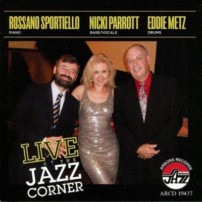 NICKI PARROTT - Live At The Jazz Corner cover