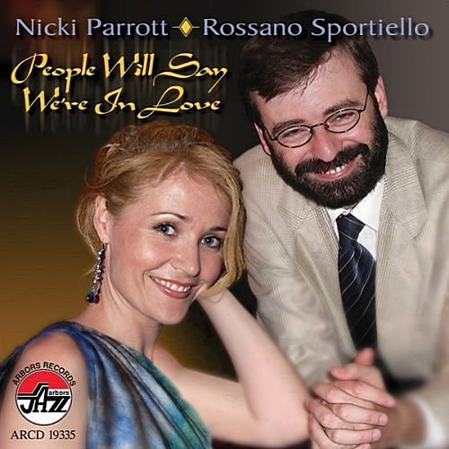 NICKI PARROTT - Nicki Parrott & Rossano Sportiello : People Will Say We're in Love cover