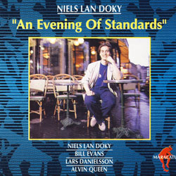 NIELS LAN DOKY - An Evening of Standards cover