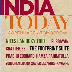 NIELS LAN DOKY - The Footprint Suite (India Today - Copenhagen Tomorrow) cover
