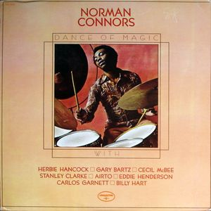 NORMAN CONNORS - Dance Of Magic cover
