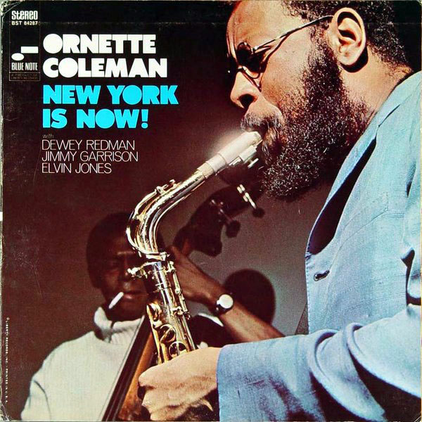 ORNETTE COLEMAN - New York Is Now cover