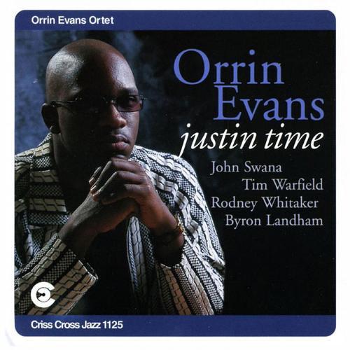 ORRIN EVANS - Justin Time cover
