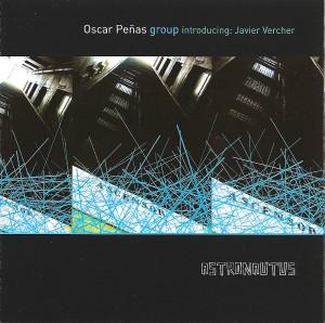 OSCAR PEÑAS - Astronautus cover