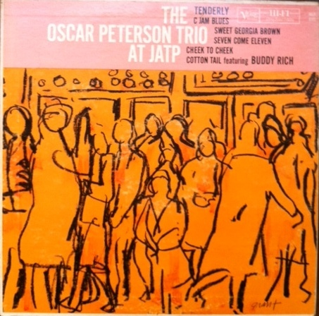 OSCAR PETERSON - At JATP cover