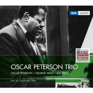 OSCAR PETERSON - Live in Cologne 1970 cover