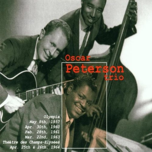OSCAR PETERSON - Olympia 1957-1963: & Theatre Des Champs-Elysees Apr. 25th-26th 1964 cover