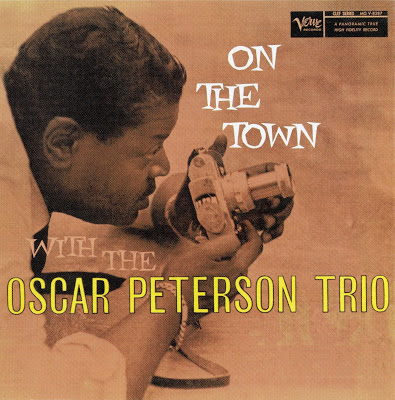 OSCAR PETERSON - On the Town With the Oscar Peterson Trio cover