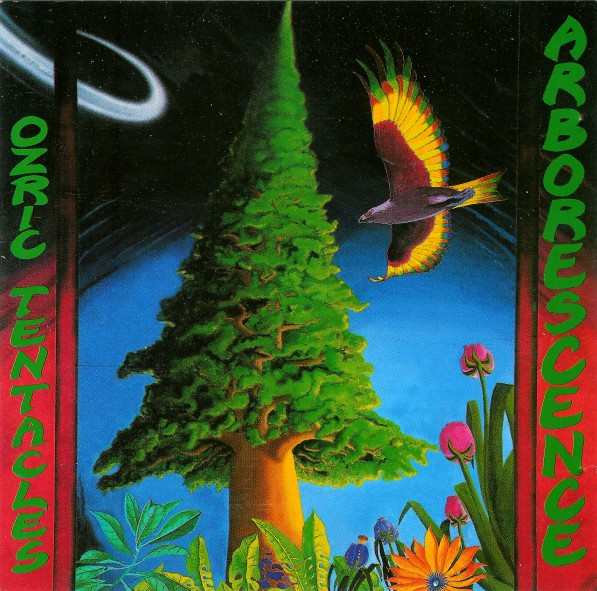 OZRIC TENTACLES - Arborescence cover