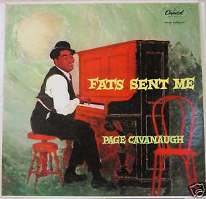 PAGE CAVANAUGH - Fats Sent Me cover