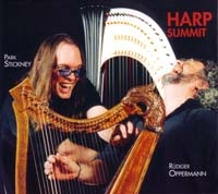 PARK STICKNEY - Park Stickney, Rüdiger Oppermann ‎: Harp Summit cover