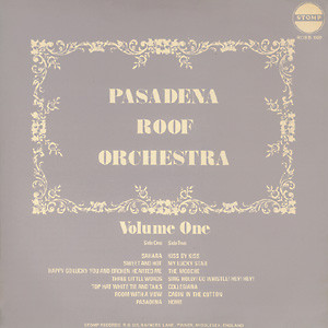 The Pasadena Roof Orchestra - A Talking Picture - Night Out